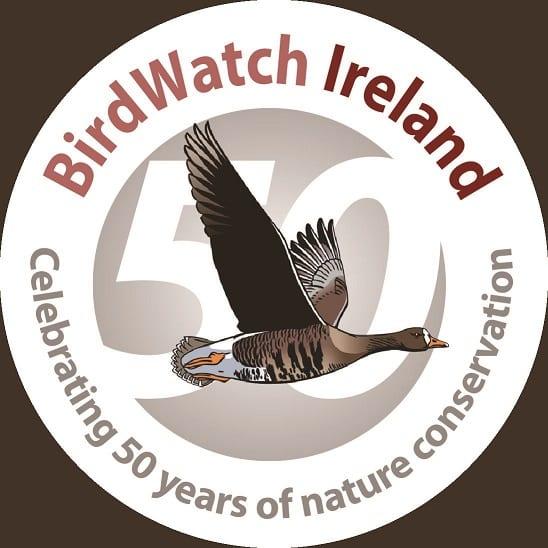 birdwatch-ireland-fiftieth-anniversary-logo