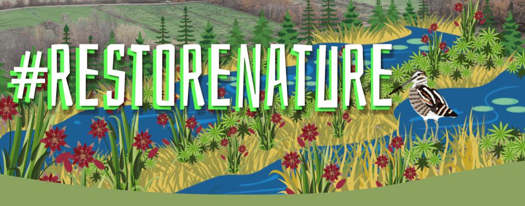 Restore Nature Campaign Banner
